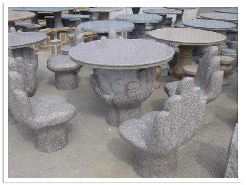 Stone Table & Bench